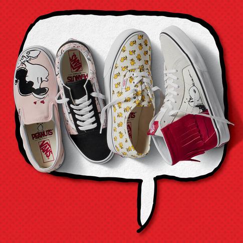 Фото №2 - Не пропусти: новая коллекция Vans x Peanuts