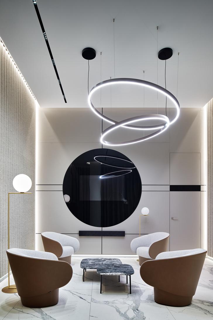 Фото №7 - VIP-зал в аэропорту «Гагарин» по проекту VOX Architects