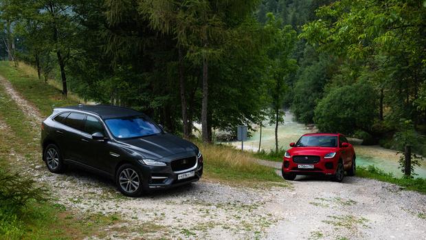 F-PACE и E-PACE— два первых кроссовера в премиальной линейке Jaguar