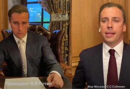 Тот самый ролик Максима Галкина с пародией на Путина, упоминания о котором изымают с новостных сайтов