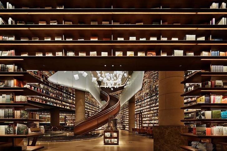 Фото №3 - Двухэтажный книжный магазин в Сиане