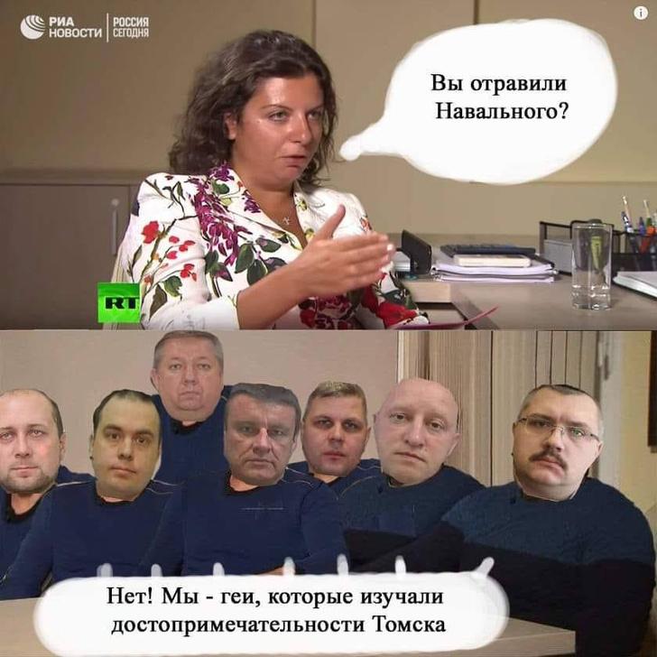 Фото №1 - Лучшие шутки о невезучих отравителях Навального