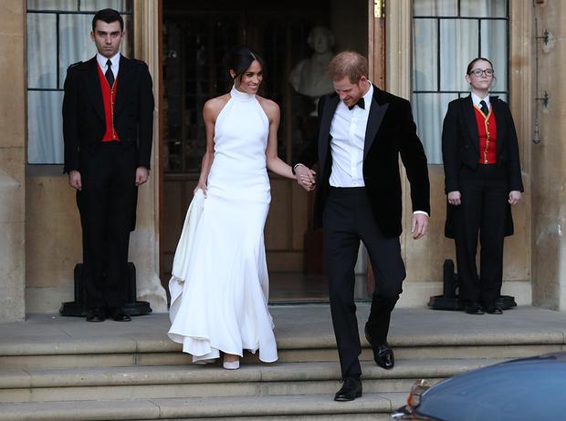 Фото №66 - Свадьба Меган Маркл и принца Гарри: как это было (видео, фото, комментарии)