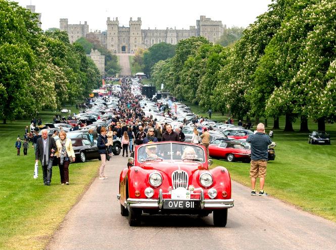 Фото №1 - Автомобили Jaguar на Королевском фестивале в Виндзоре