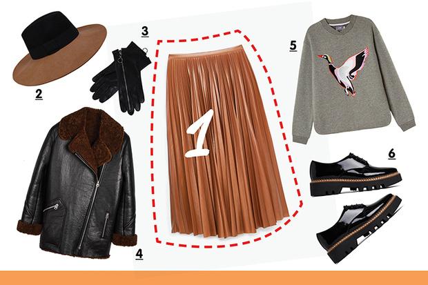 Фото №4 - С чем носить плиссированную юбку