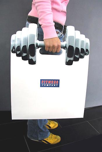 Стильная сумка для фитнес-центра