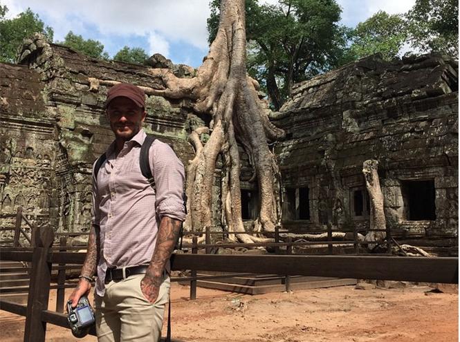 Фото №3 - Дэвид Бекхэм отправился в Камбоджу для помощи детям