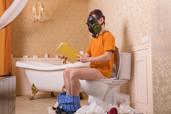почему муж американки проводит в туалете по 4 часа в день
