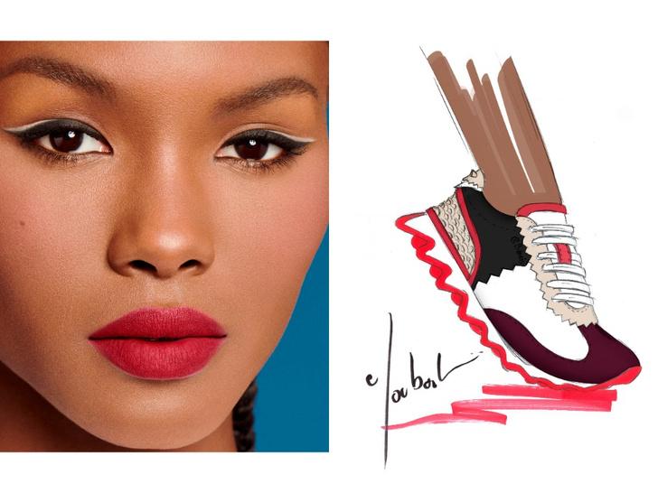 Фото №2 - Mix & match: 6 идей макияжа под 6 пар обуви