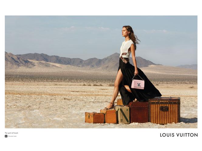 Фото №7 - Дух путешествий: Мишель Уильямс в рекламе Louis Vuitton