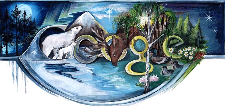 Фото №11 - «Дудл для Google — 2015»: 30 лучших рисунков