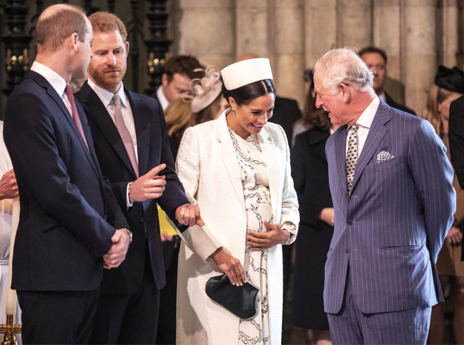 Фото №3 - Принц Чарльз намекнул на дату рождения первенца Сассекских