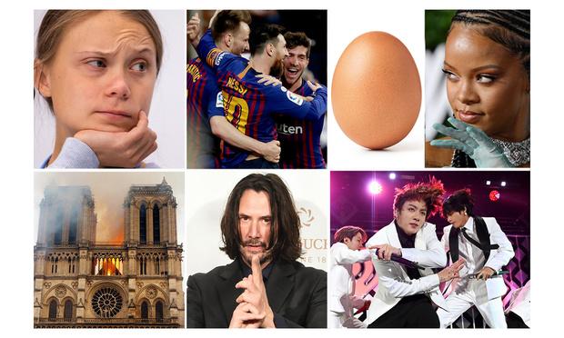 Фото №1 - Самые обсуждаемые твиты, люди, события и эмодзи: итоги года от Twitter