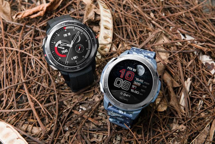 Фото №1 - HONOR представил премиальные смарт-часы HONOR Watch GS Pro: брутальный дизайн, более 100 спортивных режимов и встроенный GPS