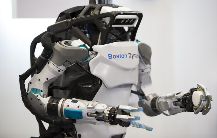 Фото №1 - Роботы: испытание паркуром