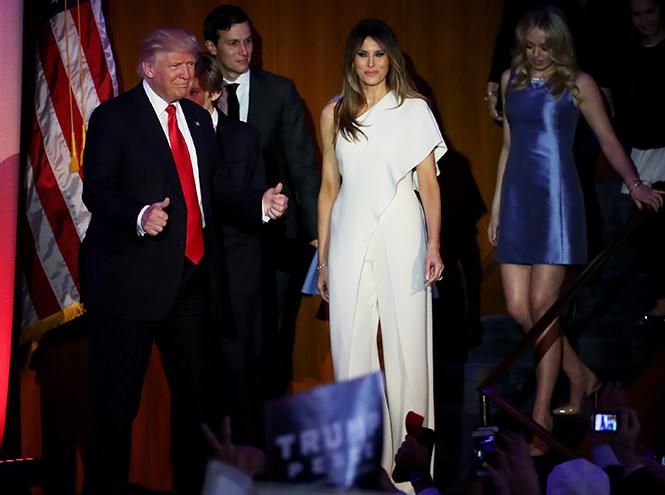 Фото №30 - Стиль Мелании Трамп: фэшн-привычки новой первой леди США
