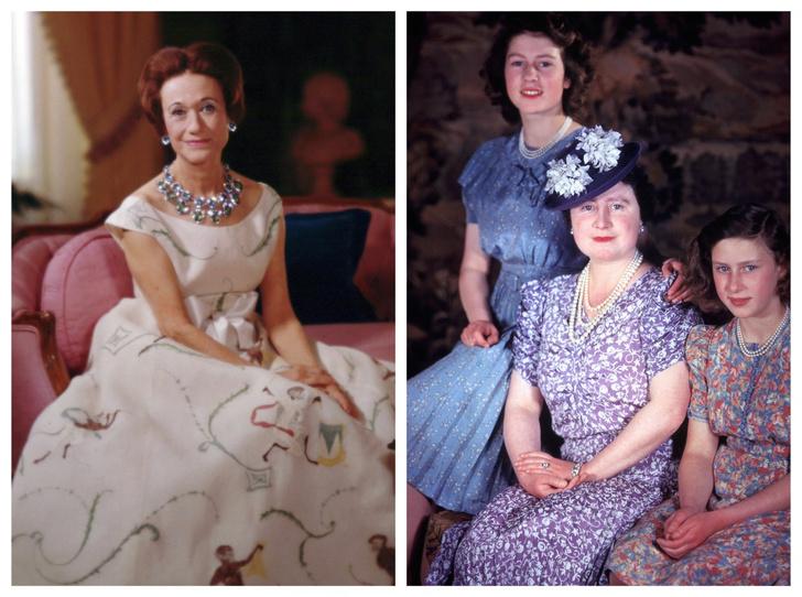 Фото №1 - Война Виндзоров: за что Уоллис Симпсон так и не простила королеву-мать