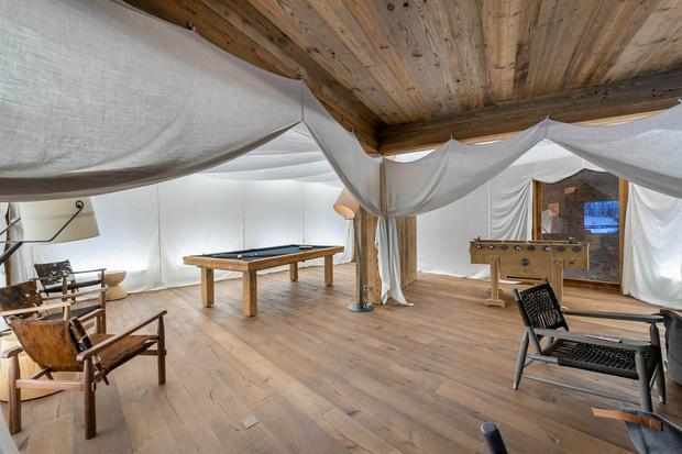 Фото №17 - Дизайнерское шале со спа-центром в Куршевеле