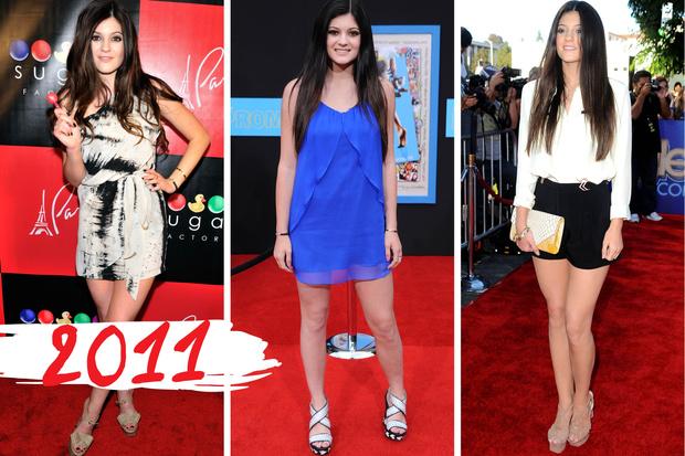 Эволюция Кайли Дженнер: 2011 год