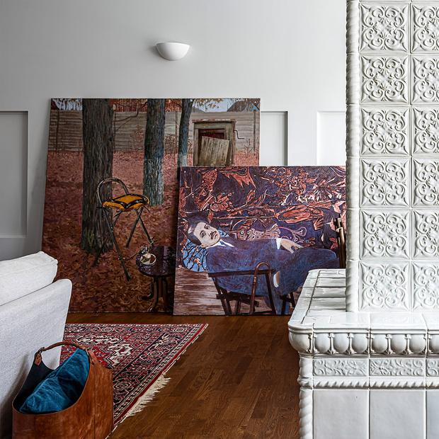 Фото №5 - Двухэтажный пентхаус в стиле бохо в Перми