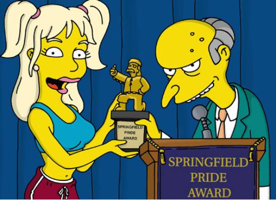 Фото №4 - 15 самых крутых пародий в «Симпсонах»