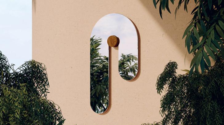 Фото №1 - Melt Mirrors: коллекция зеркал от Bower Studios