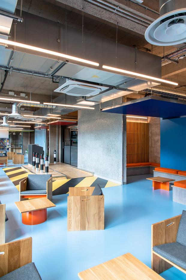 Фото №5 - Студенческое общежитие в духе Ле Корбюзье в Шеффилде