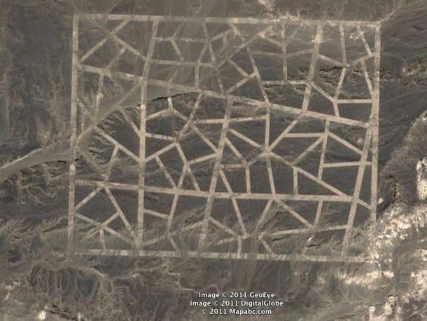 Фото №1 - Загадочные знаки посреди пустыни Гоби, найденные в 2011 году