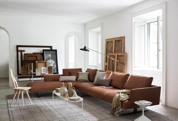 Фото №1 - Коллекция мебели по проекту Карло Моллино от Zanotta