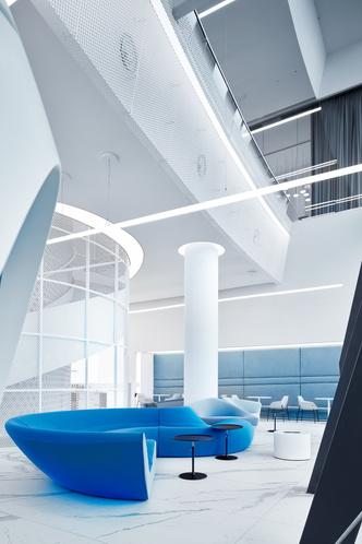 Фото №13 - VIP-зал в аэропорту «Гагарин» по проекту VOX Architects