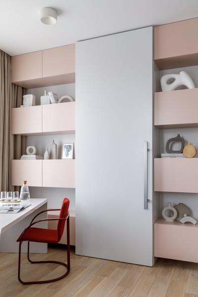 Фото №5 - Zero-waste: московская квартира 79 м² для молодой художницы