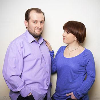 Лада, 40 лет, дизайнер, и Илья, 38 лет, музыкальный критик
