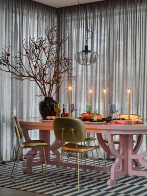 Фото №9 - Все к столу: три дизайнерские сервировки для главного праздника