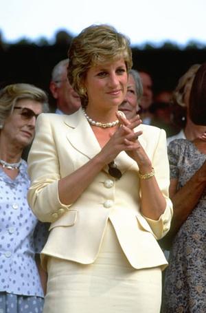 Фото №7 - Спортивный интерес: самые стильные образы Дианы на Уимблдоне
