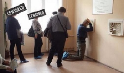 Фото №1 - Пациентов воронежской поликлиники «поднимут с колен» после огласки в соцсетях