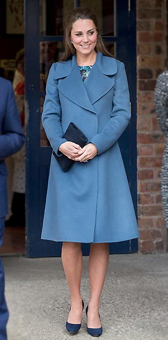 Фото №21 - В модном положении: две беременности герцогини Кембриджской (сравним?)