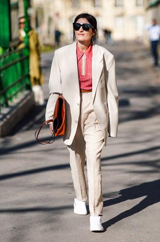 Фото №9 - С чем носить поло: 5 стильных комбинаций