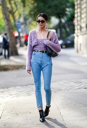 Фото №8 - С чем носить джинсы скинни сегодня: модные советы и удачные сочетания