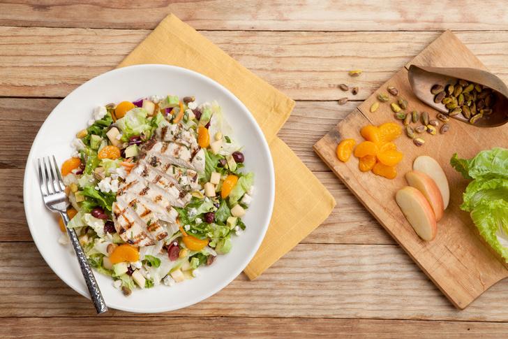 Салат из курицы с апельсинами: лучший рецепт