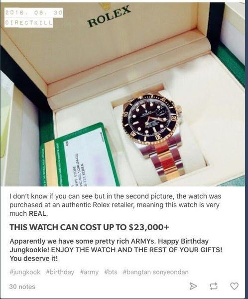 Фото №5 - 7 необычных подарков, которые к-поп айдолы получали от фанатов