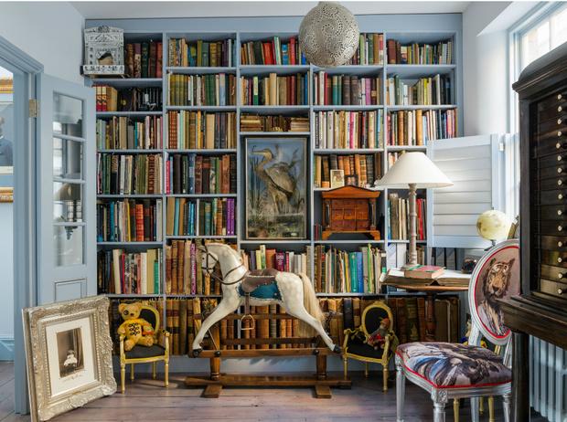 Фото №5 - Здесь живут книги: как красиво оформить домашнюю библиотеку