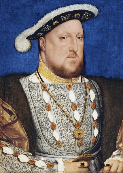 Синяя Борода, легенда, история, король Генрих VIII, его жены