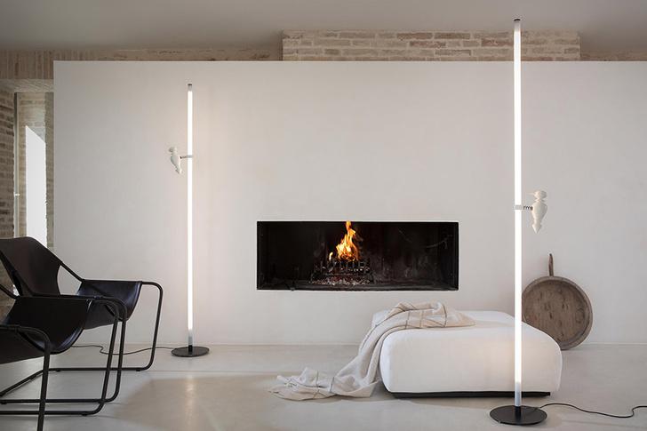 Торшер Accipicchio, дизайн Маттео Уголини для Karman, 2020.