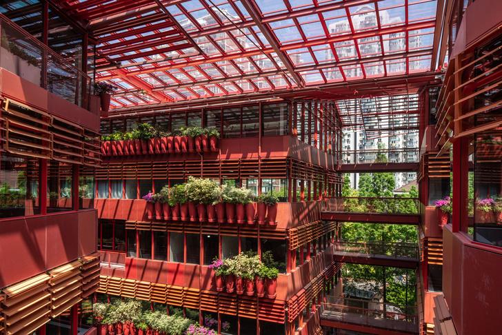 Фото №5 - Коммерческое здание по проекту Жана Нувеля в Шанхае