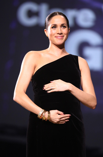 Фото №6 - Почему беременная Меган Маркл носит «тесную» одежду