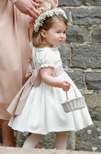 Фото №3 - Принцесса Шарлотта Кембриджская: третий год в фотографиях