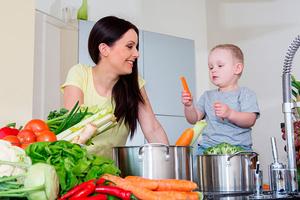 Фото №2 - Как организовать развивающий центр на кухне