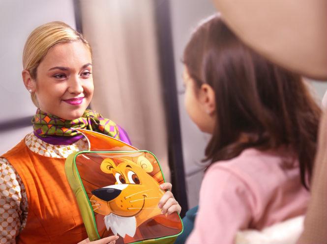 Фото №1 - Etihad Airways представляет новые развлекательные наборы для детей