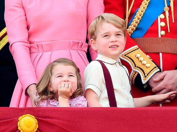 Фото №2 - Трогательные фото детей герцогини Кембриджской на празднике Trooping The Colour