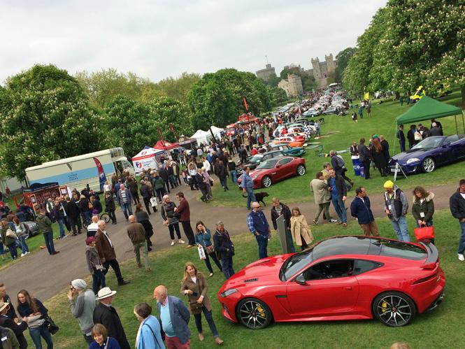 Фото №6 - Автомобили Jaguar на Королевском фестивале в Виндзоре